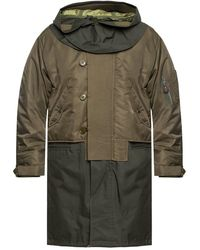 Burberry - Parka With Detachable Lining - Lyst