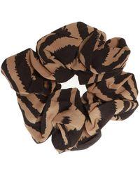 Ganni Hair Band - Brown
