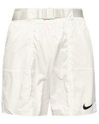 Nike Shorts With Logo - White