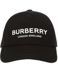 Burberry Trucker Baseball Cap - Black