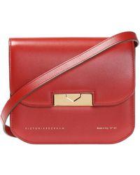 Victoria Beckham 'eva' Shoulder Bag Red