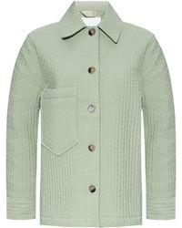 Samsøe & Samsøe Jacket With Stitching Details Green