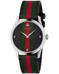 64db6a2ee41 Lyst - Gucci G-timeless - Ya126468 in Black for Men