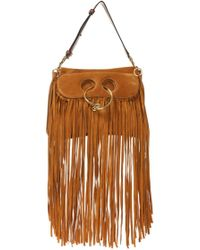 JW Anderson - 'pierce' Fringed Shoulder Bag - Lyst