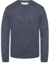 Ferragamo Crewneck Sweater - Blue