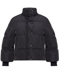 RED Valentino Jacket With Collar Black