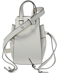 Loewe 'hammock Drawstring' Shoulder Bag White