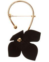 Marni Embellished Brooch - Black