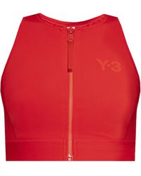 Y-3 Swimsuit Top - Red