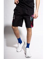 adidas Originals Shorts With Logo Black