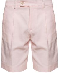 Billionaire Shorts With A Crease - Pink
