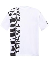 Versace Jeans Couture Logo-printed T-shirt - White