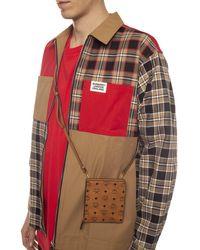 MCM Branded Shoulder Bag Brown