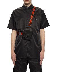 Nike One-shoulder Backpack Black