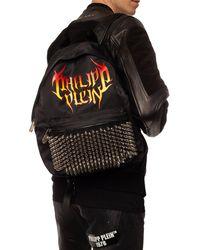 Philipp Plein Logo Backpack - Black