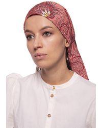 Etro Silk Headband Multicolour - Red