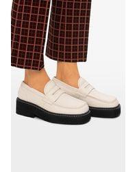 Marni Platform Loafer - White