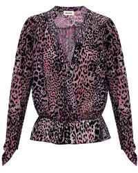 Zadig & Voltaire Patterned Shirt - Purple