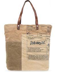 DSquared² Shopper Bag - Brown