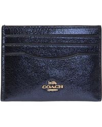 COACH - Branded Card Case - Lyst