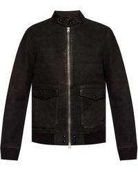 AllSaints 'amhurst' Leather Jacket Black