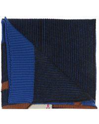 Lanvin Wool Scarf - Blue