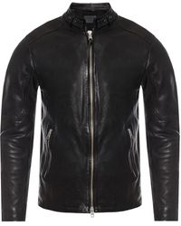 AllSaints 'cora' Leather Jacket Black