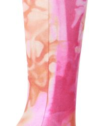 Versace Tights With Elastic Waistband - Pink