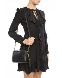 Michael Kors 'ginny' Shoulder Bag - Black