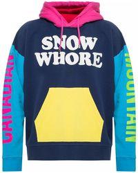 DSquared² Printed Sweatshirt - Blue