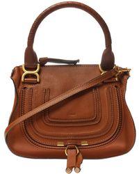 Chloé 'marcie' Shoulder Bag - Brown