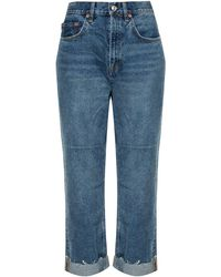 AllSaints 'mari' Boyfriend Jeans - Blue