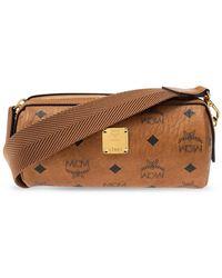 MCM Shoulder Bag With Logo - Brown