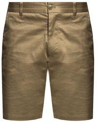 Samsøe & Samsøe Pleat-front Shorts - Green