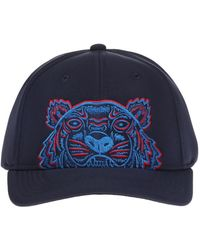 57f4a845 Lyst - KENZO Baseball Cap With Logo in Black for Men