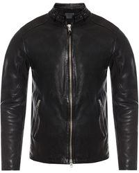 AllSaints - 'cora' Leather Jacket - Lyst