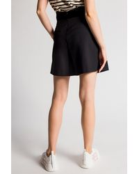 RED Valentino High-waisted Shorts - Black