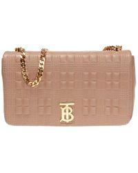Burberry 'lola' Shoulder Bag Beige - Natural