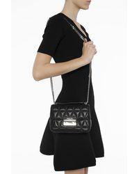 Michael Kors Sloan Chain Shoulder Bag Black