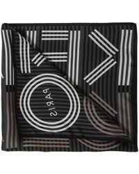 KENZO - Striped Neckerchief - Lyst