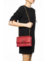 Ferragamo 'vara' Shoulder Bag - Red