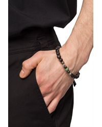 DSquared² Bracelet With Logo Brown