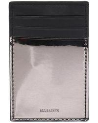 AllSaints - 'clip' Card Case - Lyst