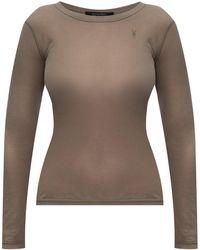 AllSaints 'francesco' Long-sleeved Top Green