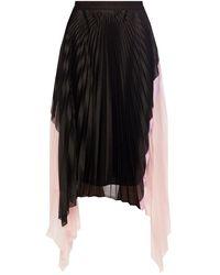 Iceberg Pleated Skirt - Black