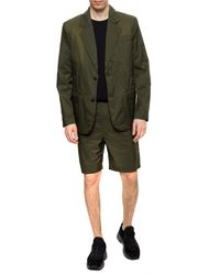 Acne Studios Shorts With Pockets Green