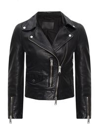 AllSaints 'kara' Biker Jacket - Black