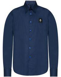 Billionaire - Patched Shirt - Lyst
