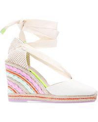 Sophia Webster 'valentina' Wedge Sandals - Multicolour