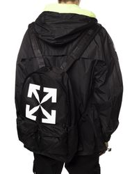 Off-White c/o Virgil Abloh Logo Backpack Black